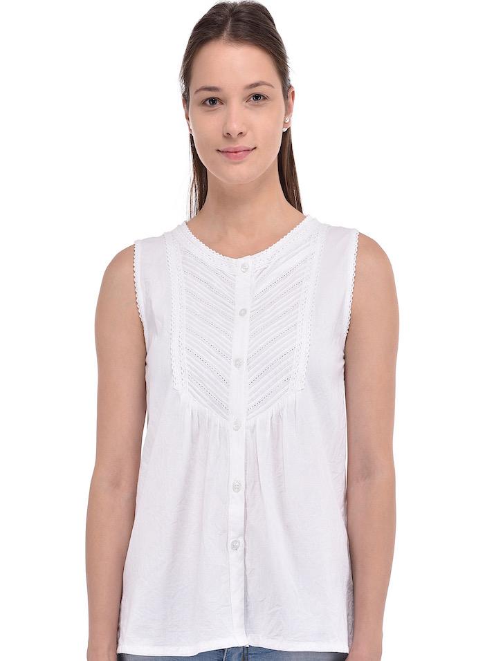 09fd48e2b81c73 White Blouse