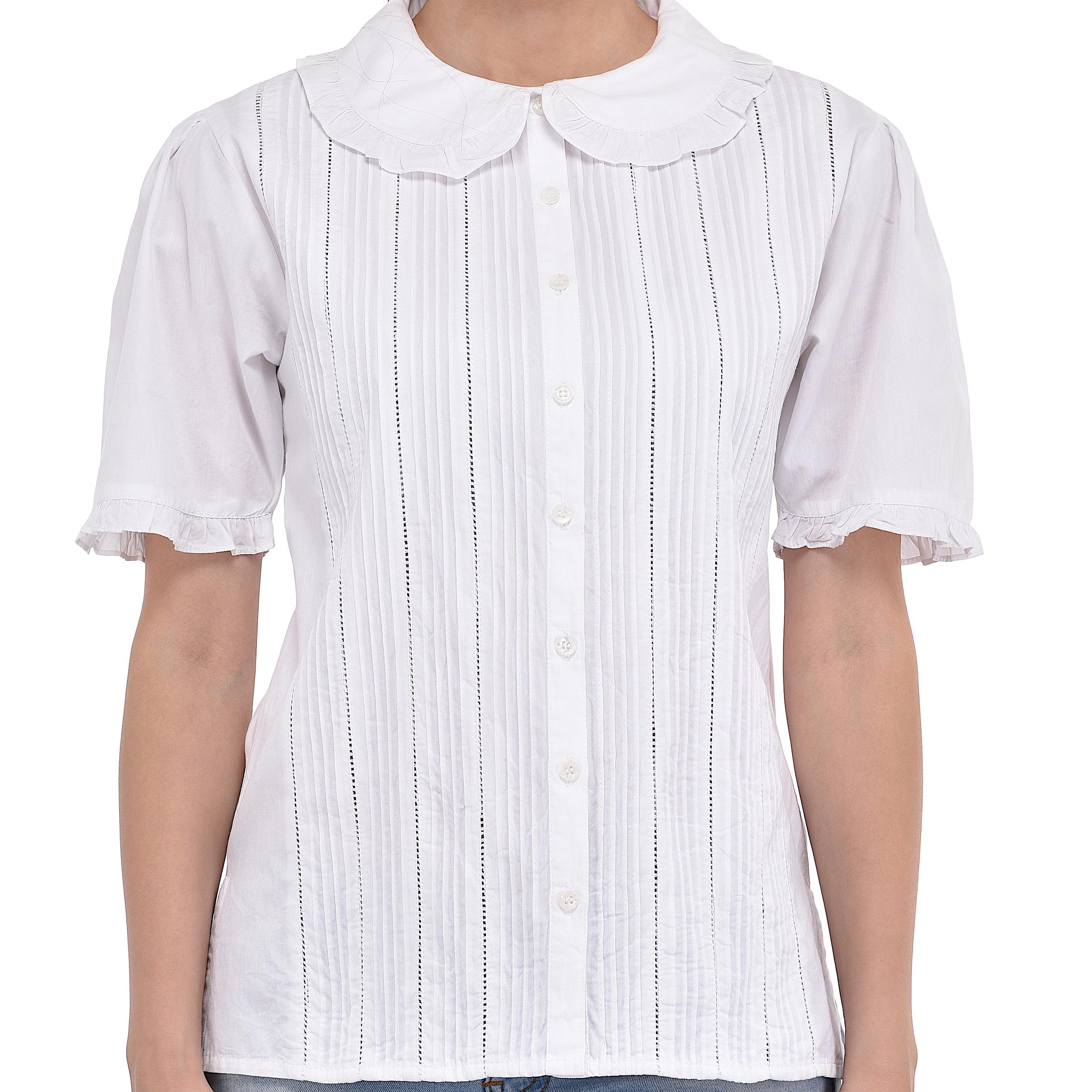 52f4f89ae Short Sleeve Peter Pan Collar Shirt – EDGE Engineering and ...