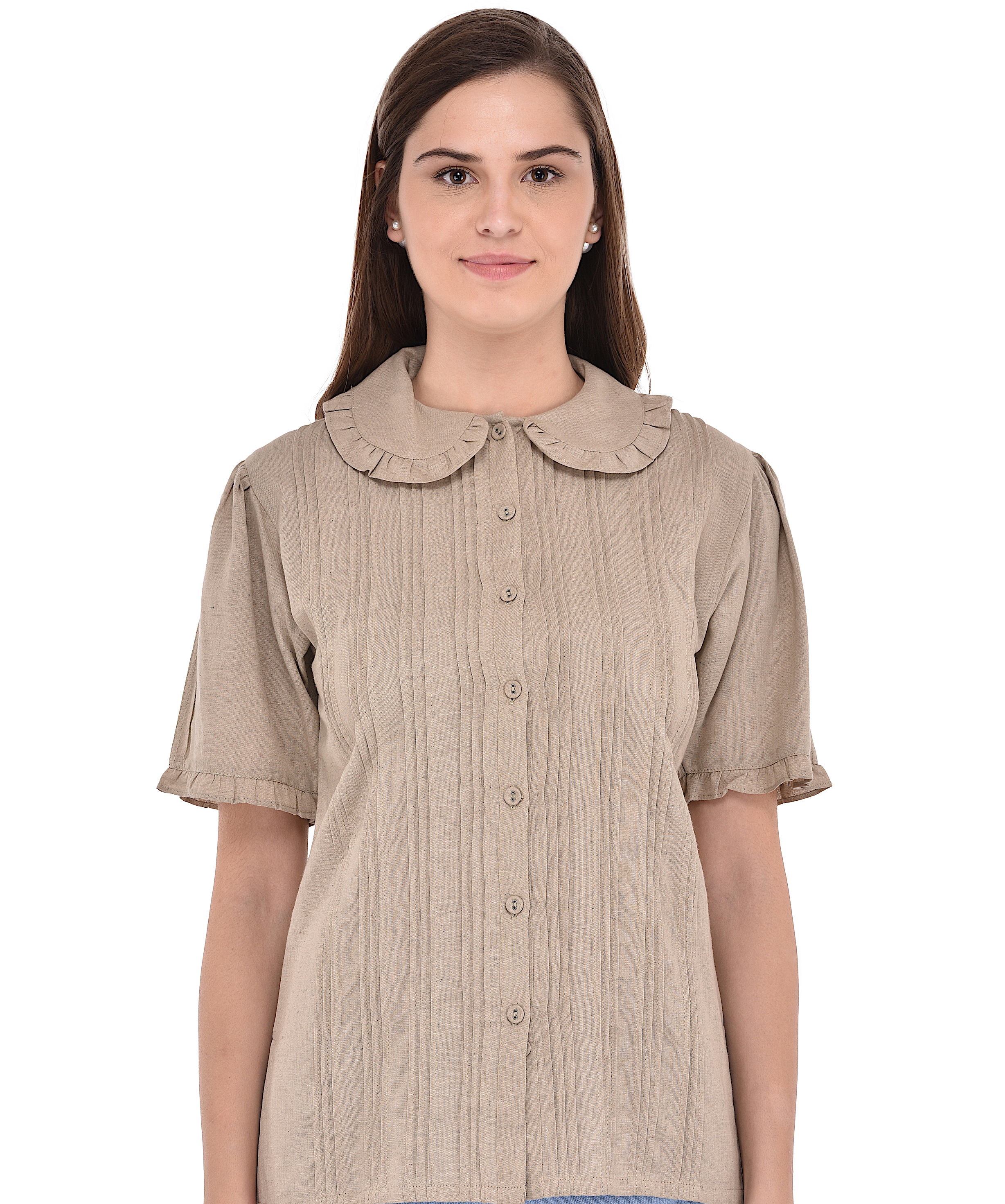 f2af6d724ff61 Peter Pan Collar Blouse ...